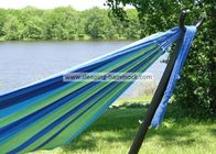 Space Saving Stand Alone At Home Strong Steel Hammock Stand , Hammock Support Frame