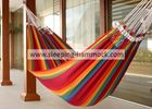 Luxury Family Soft Fabric Cotton Brazilian Style Double Hammock With Stand 260 X 190 Cm