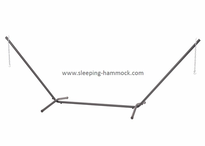 Easy Portable Camping Modern Travel Metal Arc Hammock Stand For Double Hammock 150kgs Capacity
